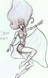 Storm marvel comics fanart
