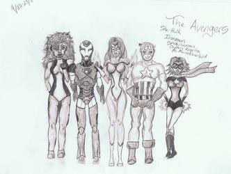 The Avengers Marvel comics