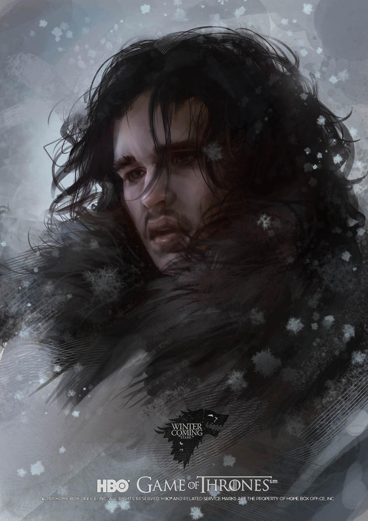 GAME OF THRONES :Jon Snow by Scottshi