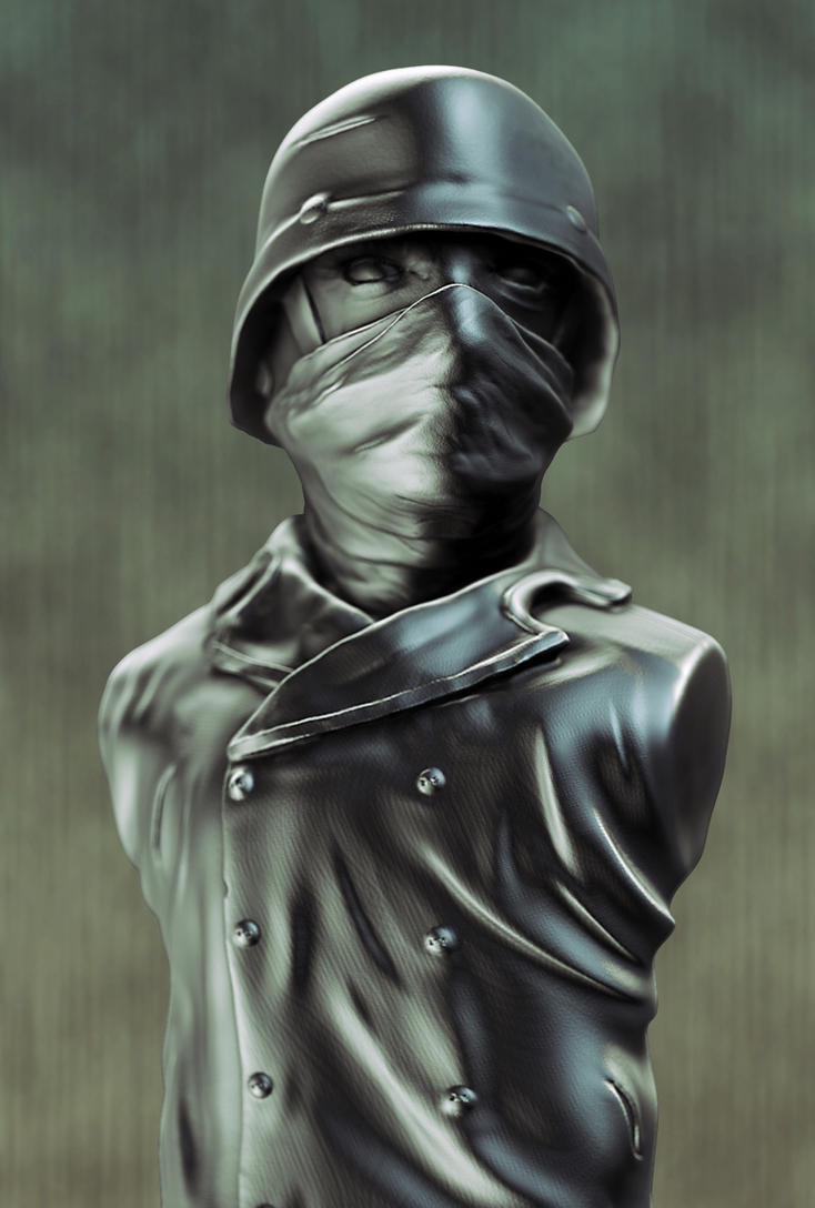 German Soldier by DiederikV