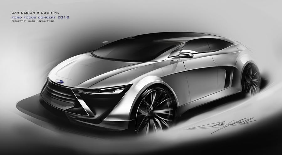 Ford Focus Concept by Czajkovski on DeviantArt