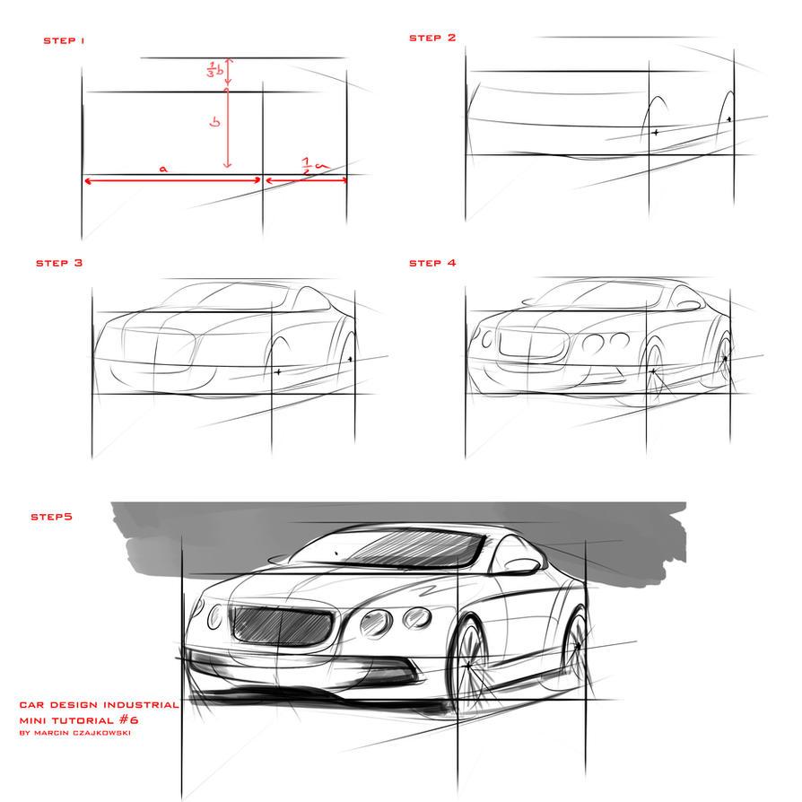 Tutorial Sketch Car 6 By Czajkovski On Deviantart