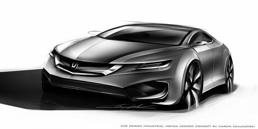 Honda Accord 2018 concept by Czajkovski on DeviantArt