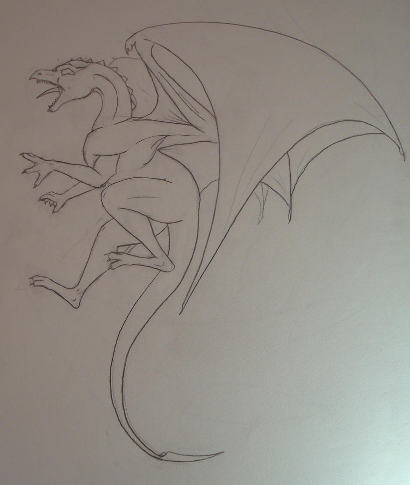 Dragon tattoo WIP by shaihulud5 on deviantART