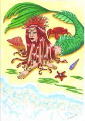 little mermaid by elolilou57
