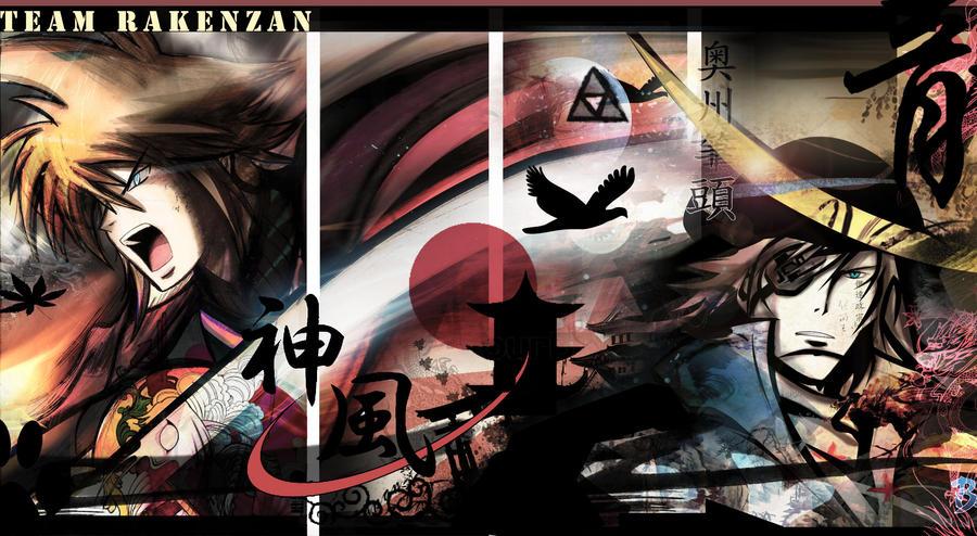 'Kaminari-Kenzan' Tumblr Background by The-Longfall-of-1979