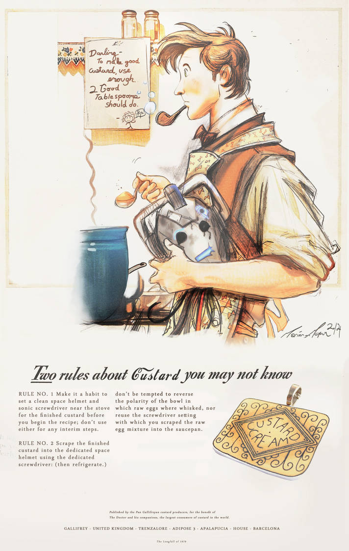 How To Make Good Custard - (a 1940's ad) by The-Longfall-of-1979