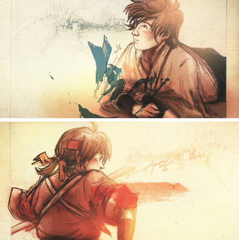Tenderness, torn. - [Sengoku Basara] by The-Longfall-of-1979