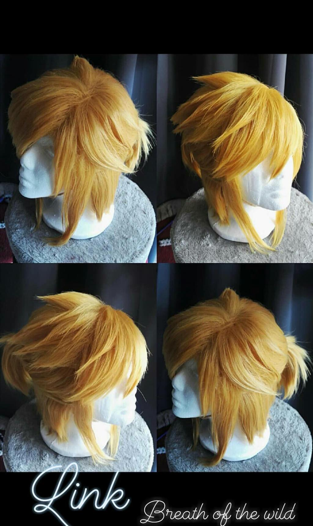 Link Zelda Breath Of The Wild Wig By Nodoka54 On Deviantart