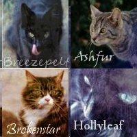 Four Free Warriors Icons by AshbreezeTheKitty