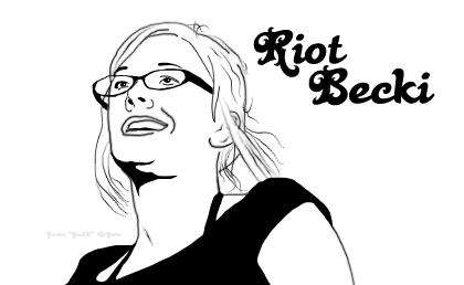 Pipettes - RiotBecki Line Art by Gee881