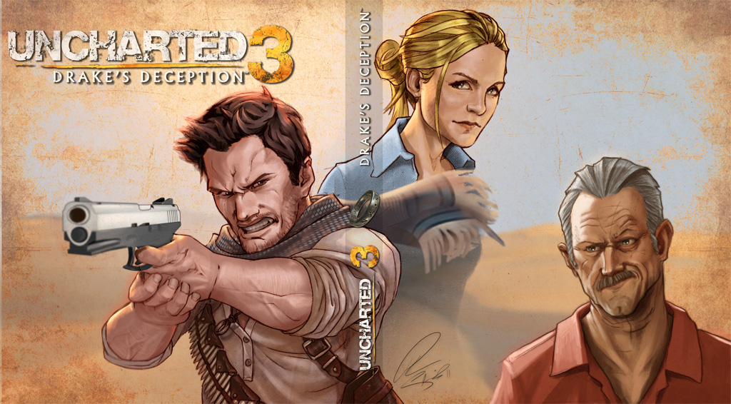 Uncharted 3 by Petarsaur