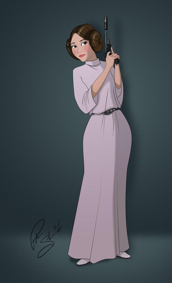 Disney Princess Leia Organa by Petarsaur