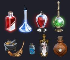 Potions by Petarsaur