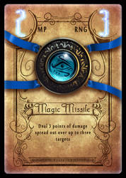 Spell Card Design by Petarsaur