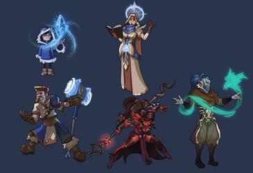 Magic Users 2 by Petarsaur