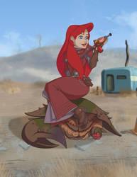 Brotherhood Scribe Ariel by Petarsaur