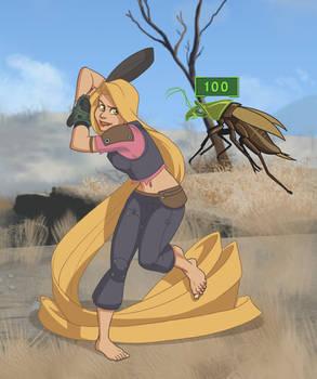 Merc Adventurer Rapunzel