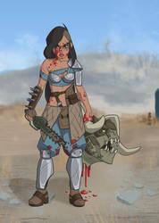 Raider-Princess Jasmine by Petarsaur
