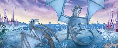 Queen Snowfall and Lynx