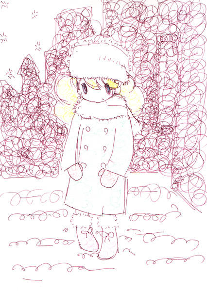 winter girl by Cinnamon6