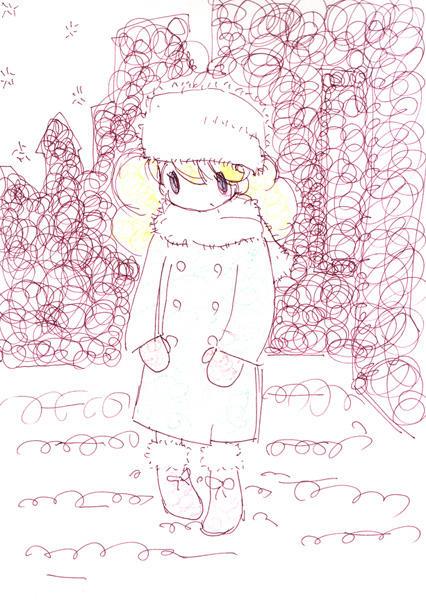 winter girl by Cinnamon6