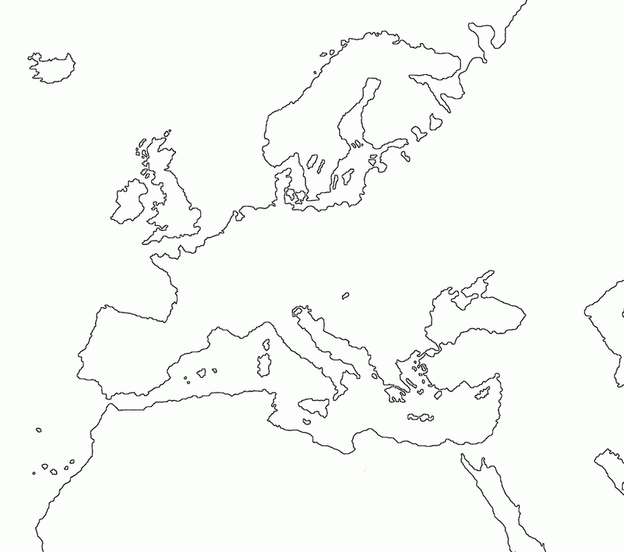 Blank Map Of Europe With Borders.Pictures Of Europe Map Blank No Borders Rock Cafe