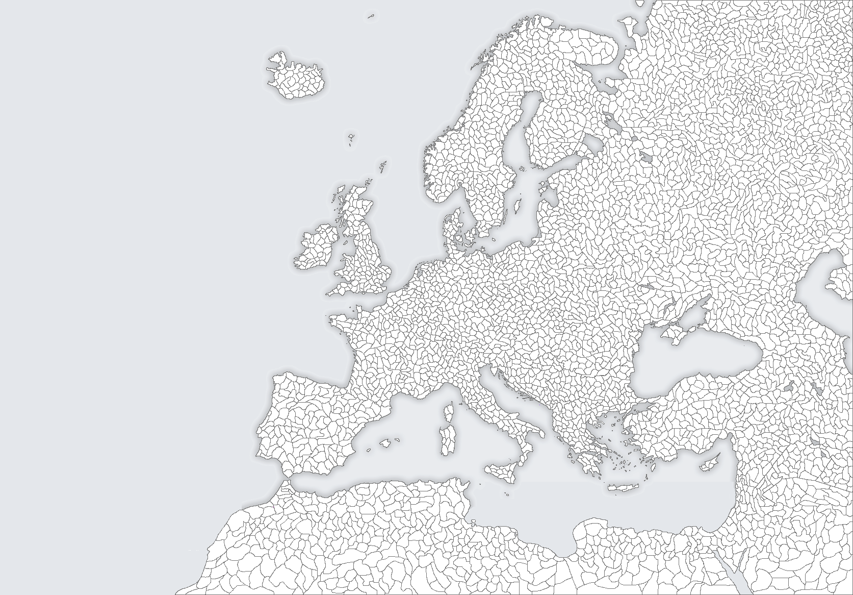 Map Of Europe With Provinces.Europe With Many Provinces By Eddsworldbatboy1 On Deviantart