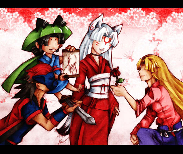 Valentines for Amaterasu by Kathisofy on DeviantArt