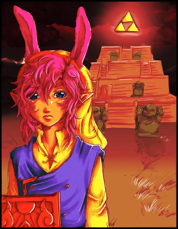 ALttP: Hero in the Dark World by Kathisofy