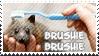Stamp: Brushie Brushie Brushie by Kathisofy
