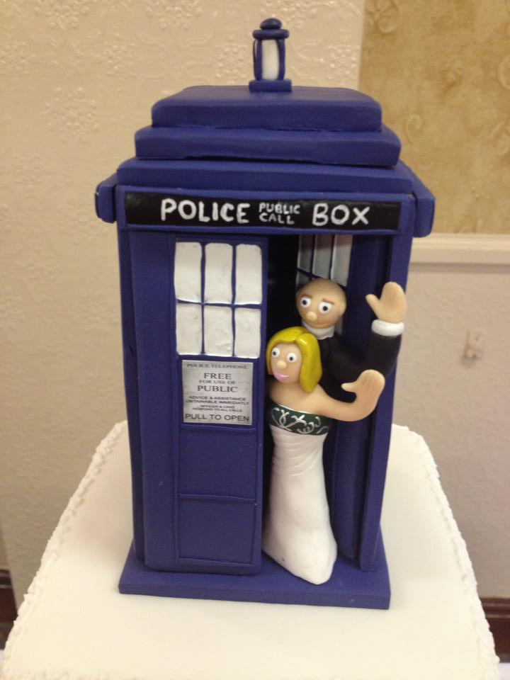 Tardis Cake Topper Buy