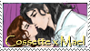 Cossette X Mael stamp by dragondoodle
