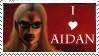 I love Aidan stamp by dragondoodle