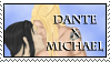 Dante x Michael Stamp by dragondoodle