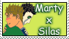 Marty x Silas Stamp by dragondoodle