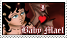 I love Baby Mael Stamp by dragondoodle
