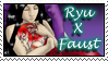 Ryu x Faust Stamp B by dragondoodle