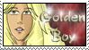 Golden Boy Talon Stamp by dragondoodle
