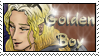Golden Boy Aidan Stamp by dragondoodle