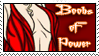 Boobs of Power Stamp by dragondoodle