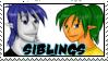 Siblings 1 by dragondoodle