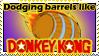 Comm - Dodging Barrels by dragondoodle