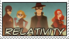 Comm - Relativity Stamp by dragondoodle