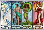 The Elements - Laron, Ian, Laela, Adara
