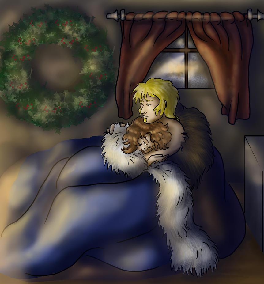 Rori and Yokov - It's Cold Outside by dragondoodle