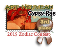 3rd Place Art Nouveau 2015 by dragondoodle