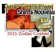 1st Place Art Nouveau 2015 by dragondoodle