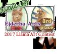 3rd place Llama list 2017 by dragondoodle
