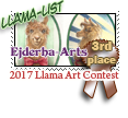 3rd place Llama list 2017 by dragondoodle